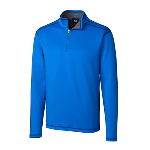 Cutter & Buck Men's DryTec Evergreen Reversible Half-Zip