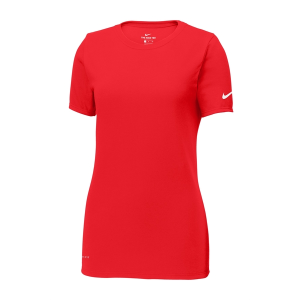 Nike Ladies Dri-FIT Cotton/Poly Scoop Neck Tee